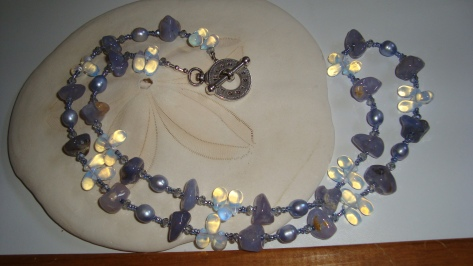 Periwinkle Necklace from my Etsy Store